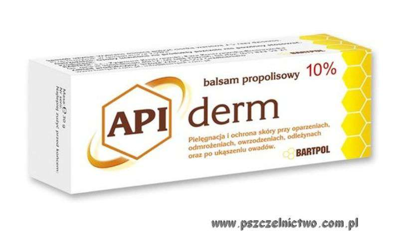Apiderm - balsam propolisowy 10%